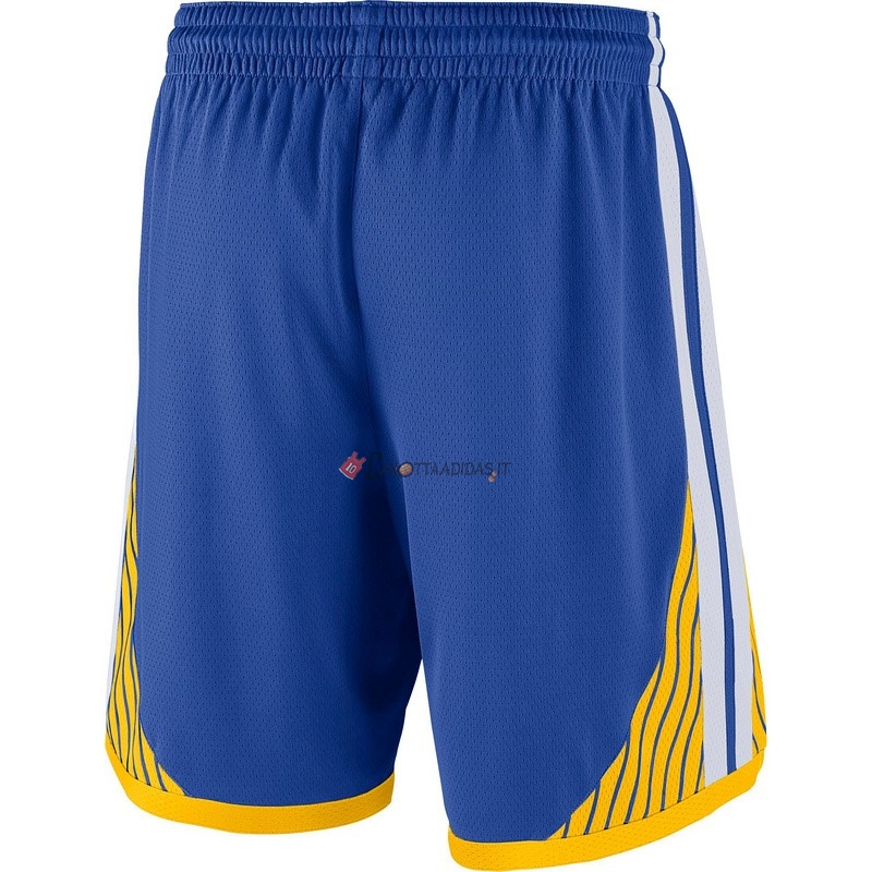 Hot- Pantaloni Basket Golden State Warriors Nike Blu