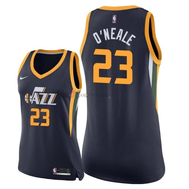 Hot- Maglia NBA Donna Utah Jazz NO.23 Royce O'Neale Marino Icon 2018