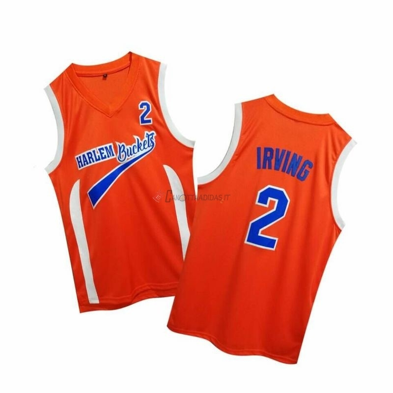 Hot- Maglia NBA Film Basket Uncle Drew NO.2 Irving Rosso