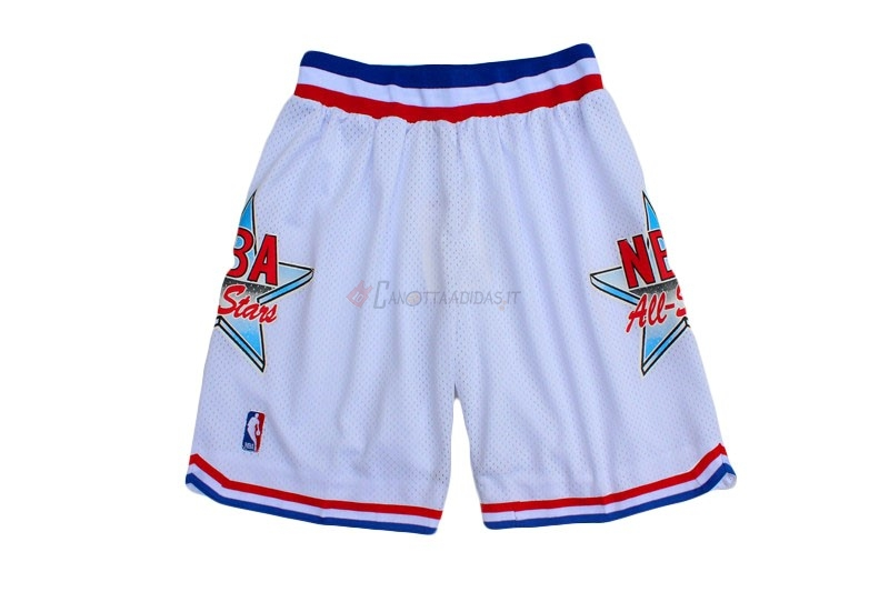 Hot- Pantaloni Basket 1992 All Star Bianco
