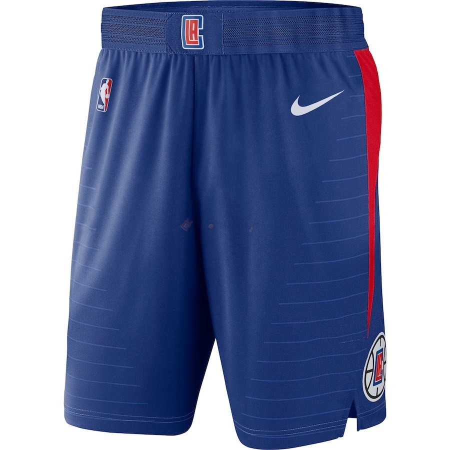 Hot- Pantaloni Basket Los Angeles Clippers Nike Blu Icon 2018