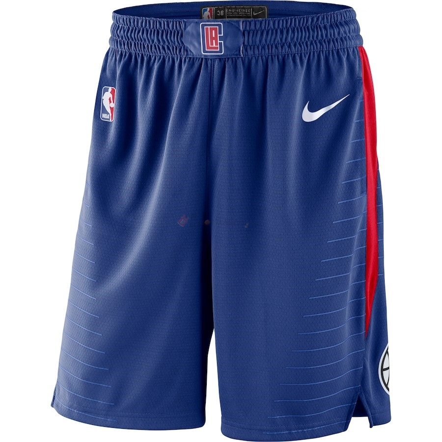 Hot- Pantaloni Basket Los Angeles Clippers Nike Reale Blu 2018