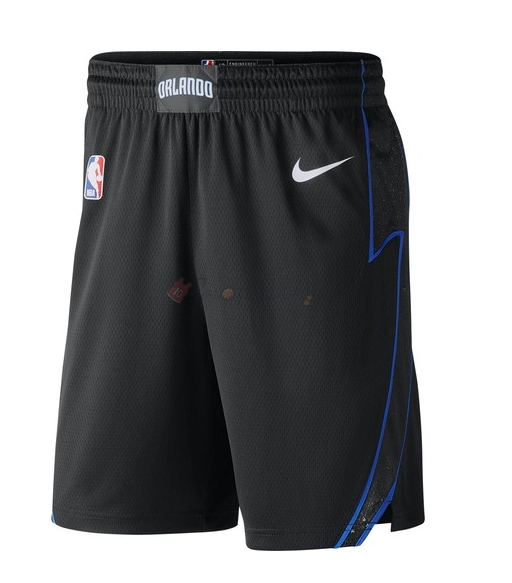 Hot- Pantaloni Basket Orlando Magic Nike Nero Città 2018-19