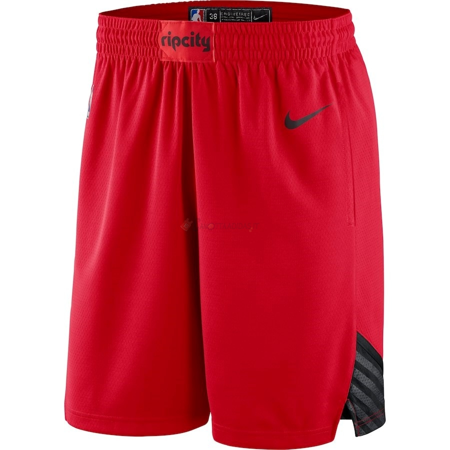 Hot- Pantaloni Basket Portland Trail Blazers Nike Rosso Statement 2018