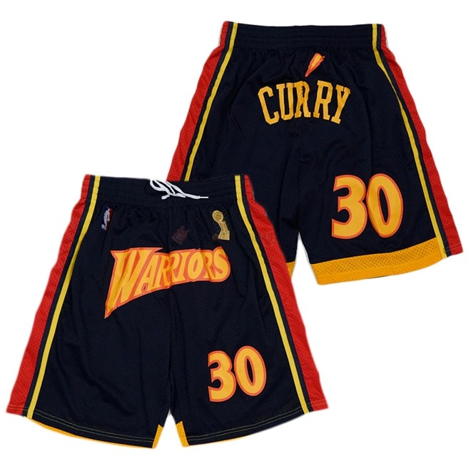 Hot- Pantaloni Basket Golden State Warriors Curry Nero