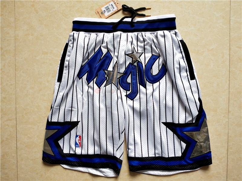 Hot- Pantaloni Basket Orlando Magic Bianco