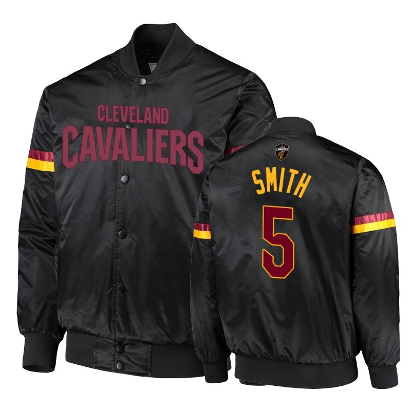 Hot- Giacca NBA Cleveland Cavaliers NO.5 J.R. Smith Nero
