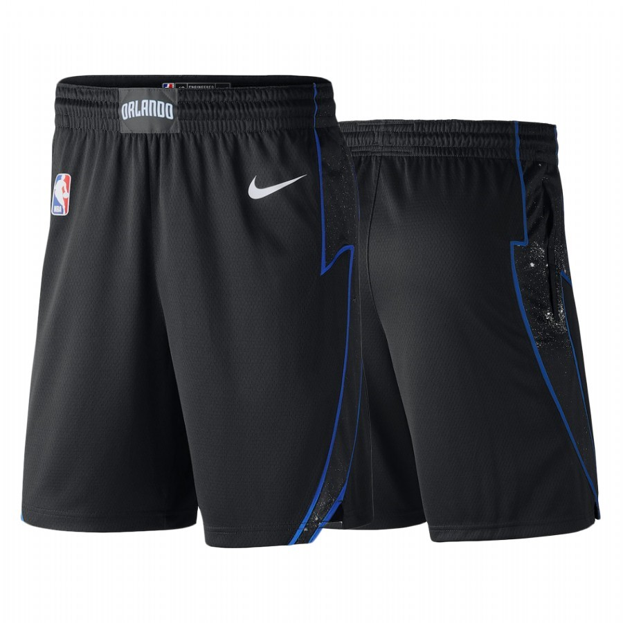 Hot- Pantaloni Basket Orlando Magic Nike Nero Nero