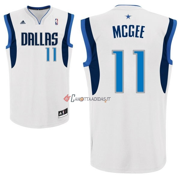 Hot- Maglia NBA Dallas Mavericks NO.11 Monta Ellis Bianco