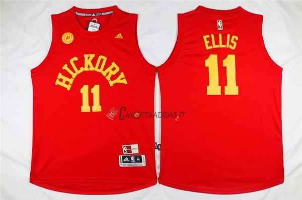 Hot- Maglia NBA Indiana Pacers NO.11 Monta Ellis Rosso