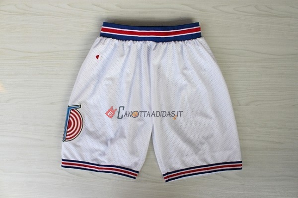 Hot- Pantaloni Basket Film Basket Tune Squad Bianco