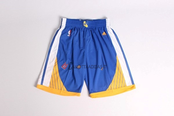 Hot- Pantaloni Basket Golden State Warriors Blu