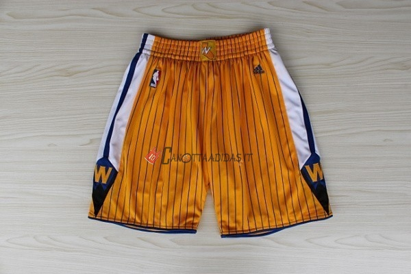 Hot- Pantaloni Basket Golden State Warriors Giallo