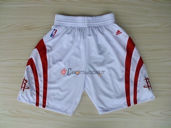 Hot- Pantaloni Basket Houston Rockets Bianco
