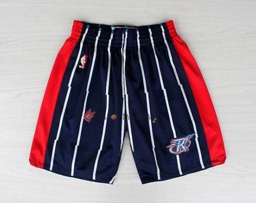 Hot- Pantaloni Basket Houston Rockets Blu