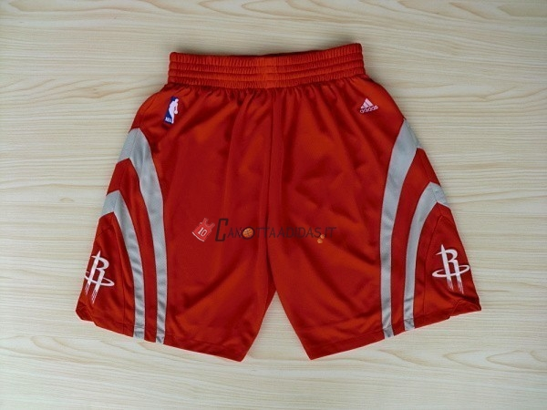 Hot- Pantaloni Basket Houston Rockets Rosso
