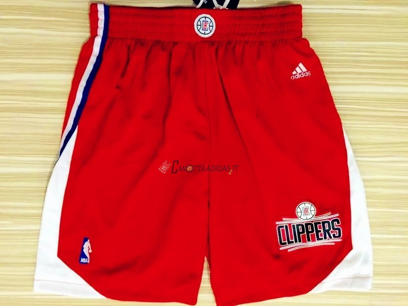 Hot- Pantaloni Basket Los Angeles Clippers Rosso