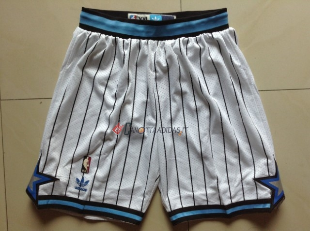 Hot- Pantaloni Basket Orlando Magic Bianco Striscia