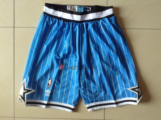 Hot- Pantaloni Basket Orlando Magic Blu Striscia