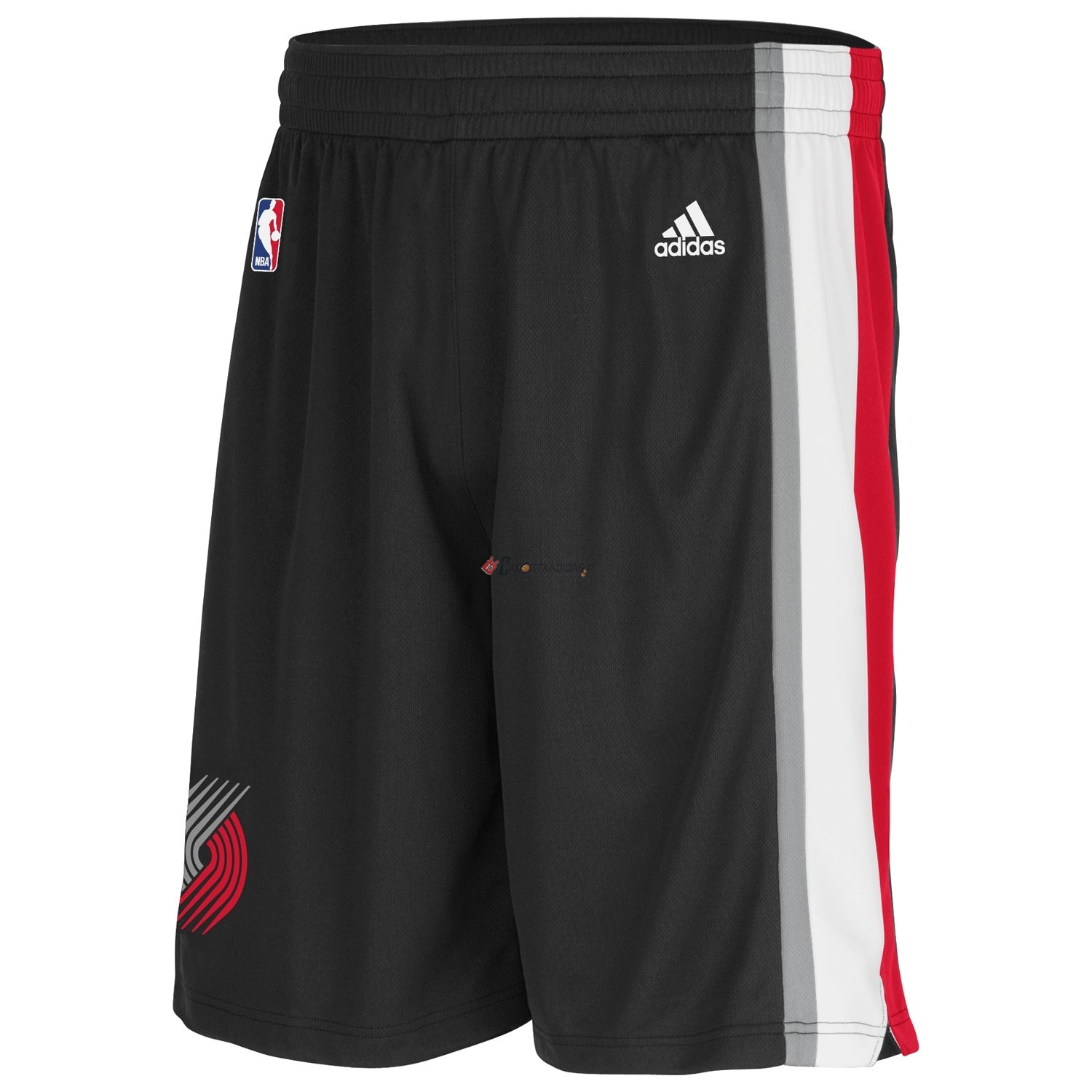 Hot- Pantaloni Basket Portland Trail Blazers Nero